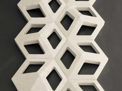 Cubò marble wall surface modular
