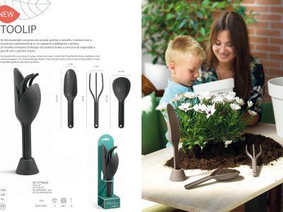Set Toolip - garden tools - atrezzi da giardinaggio