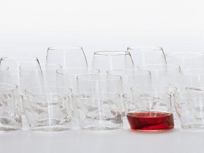 bicchieri vetro chiacchiere