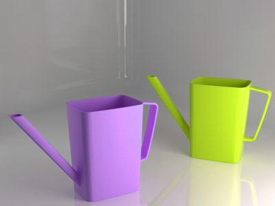 annaffiatoio giocattolo in plastica - colors