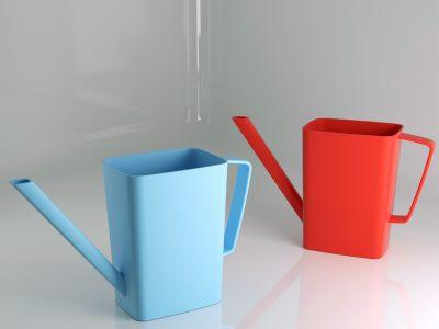 annaffiatoio giocattolo in plastica stampato a iniezione