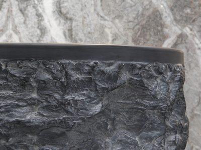 spacco black marble