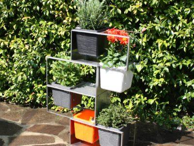 vaso struttura _ il micro giardino