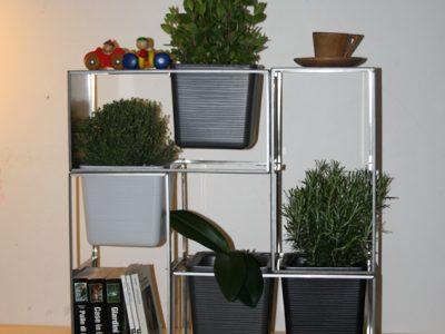 vaso struttura _ il giardino in casa